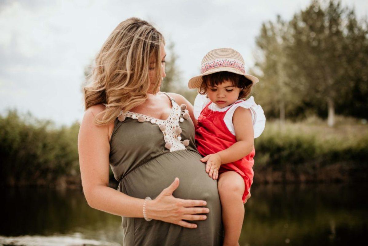 sesión fotos embarazo exterior zaragoza 5
