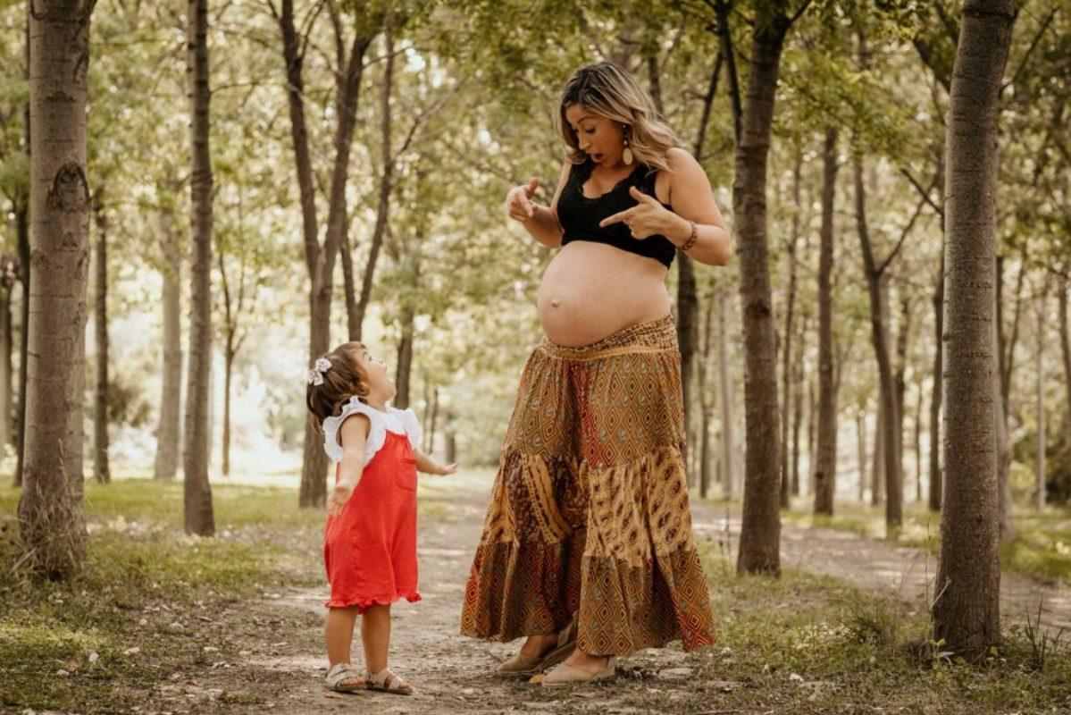 sesión fotos embarazo exterior zaragoza 8